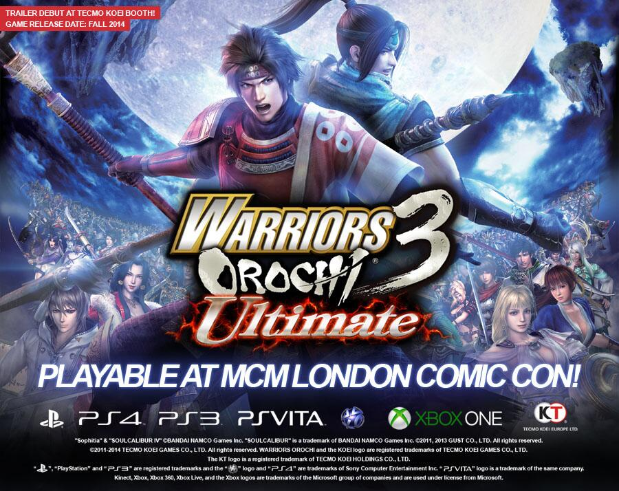 ����� Warriors Orochi 3 Ultimate ��� PS Vita, PS3 � PS4