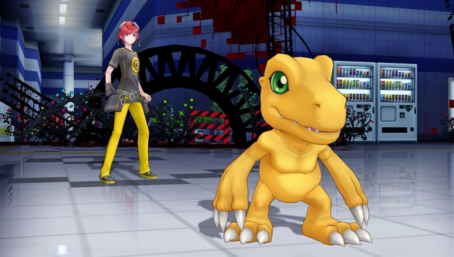 ����� ������� Digimon Story: Cyber Sleuth