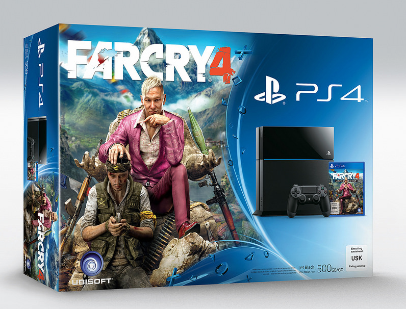 Комплекты Far Cry 4 PS3 и PS4 + новый трейлер