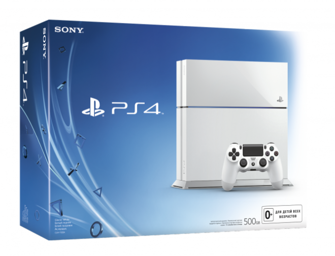 PlayStation 4 White появится в Европе
