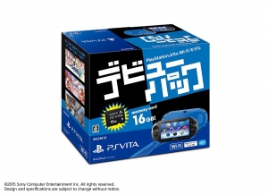 PlayStation Vita Debut Pack с играми Free To Play появится в Японии