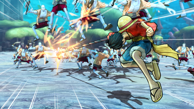 Marineford Arc в новом трейлере One Piece: Pirate Warriors 3