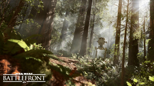 В Star Wars Battlefront будет AT-ST Walker
