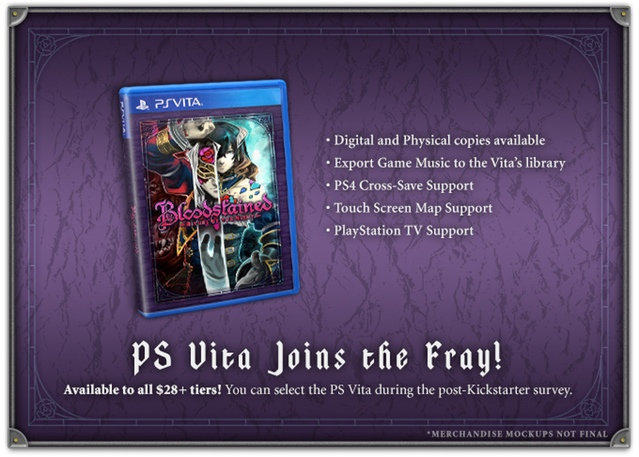 Состоялся анонс Bloodstained: Ritual of the Night для PlayStation Vita
