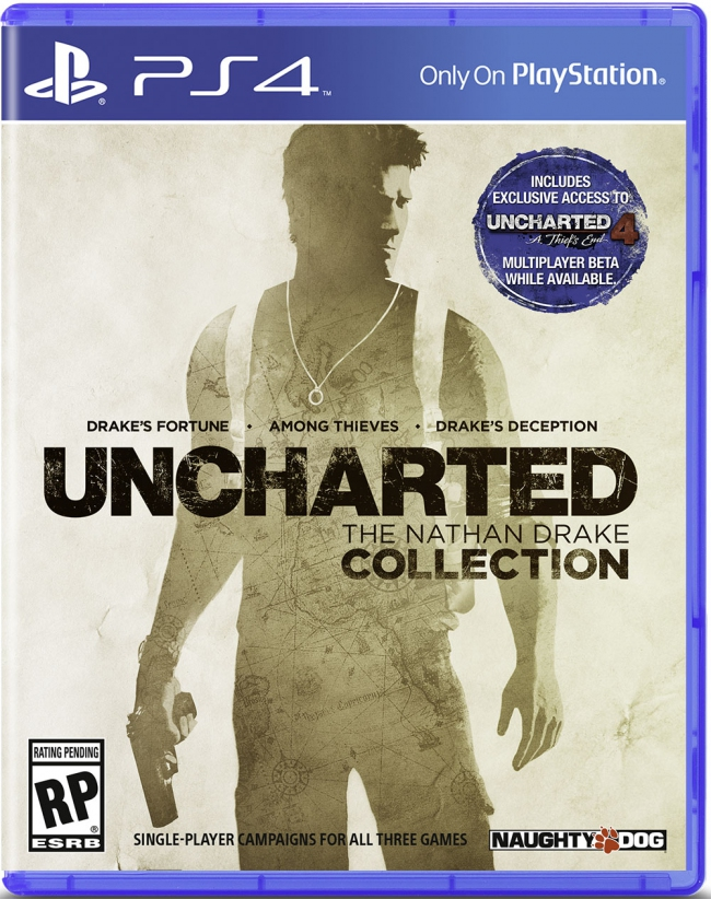 Состоялся анонс Uncharted: The Nathan Drake Collection