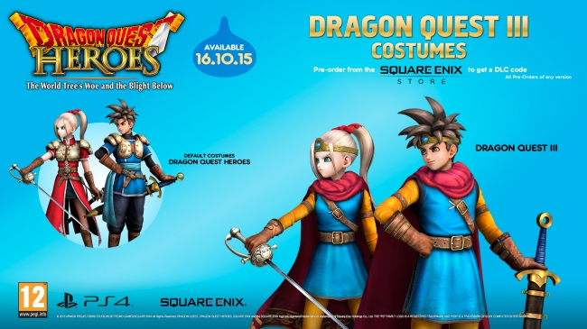 Dragon Quest Heroes: The World Tree's Woe and the Blight Below выйдет в октябре