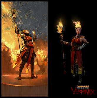 ����� ������� �������� � Warhammer: End Times Vermintide