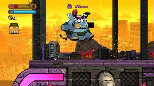 Tembo The Badass Elephant выйдет на PS4