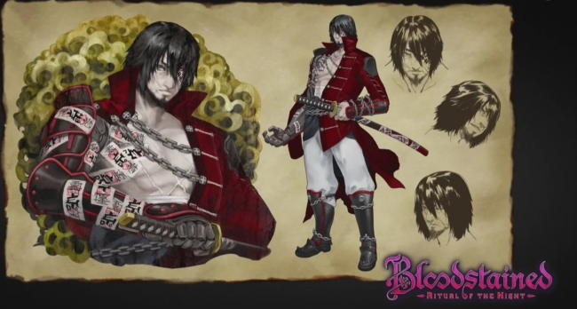 ����� ������� �� ������� � Bloodstained: Ritual of the Night