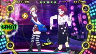 Adachi и Marie в трейлерах Persona 4: Dancing All Night