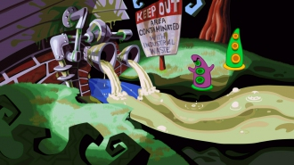 Дебютные скриншоты Day of the Tentacle: Special Edition