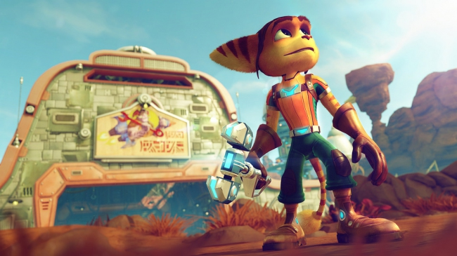 Demo-трейлер Ratchet & Clank с PlayStation Experience 2015