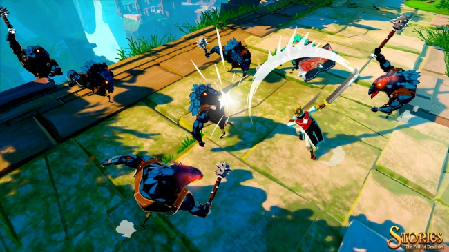 Свежий трейлер Stories: The Path of Destinies