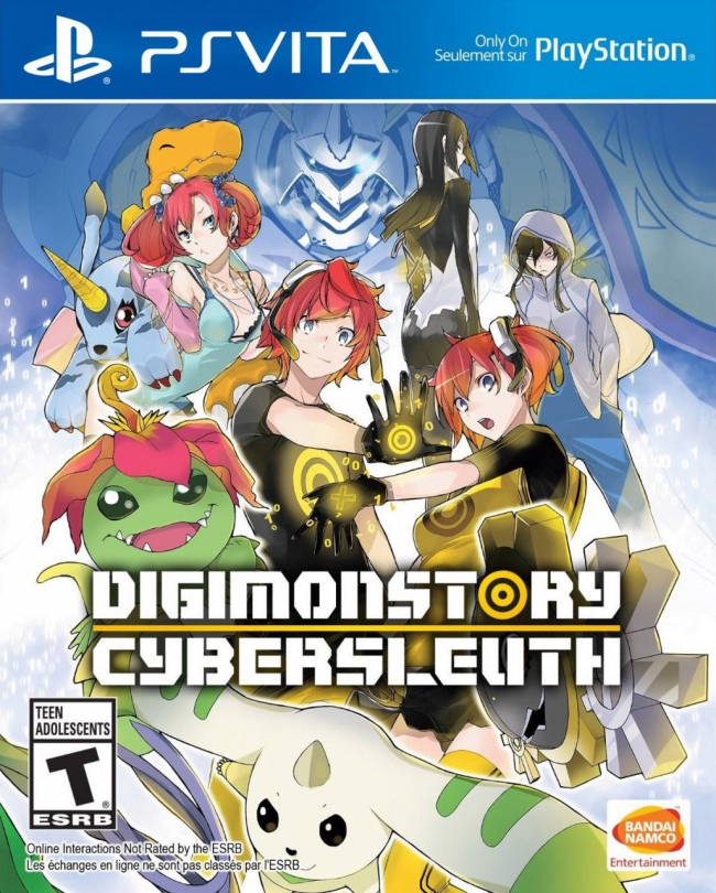 ����������� ����-��� Digimon Story: Cyber Sleuth