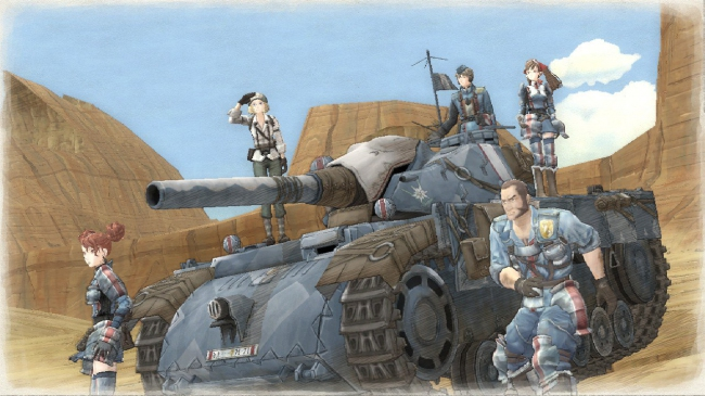 ������ ������� Valkyria Chronicles Remastered