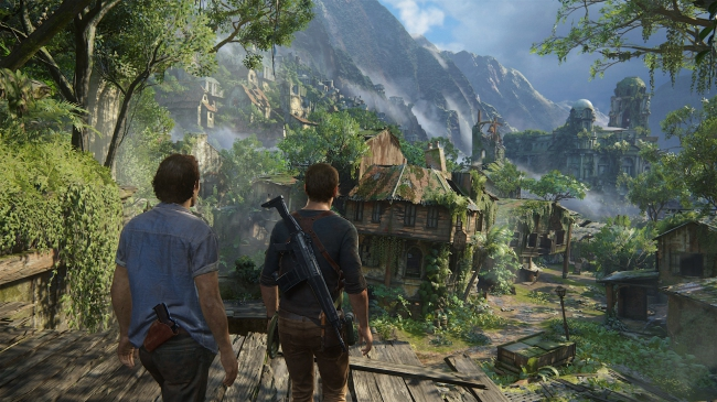 Второй дневник разработчиков Uncharted 4: A Thief's End