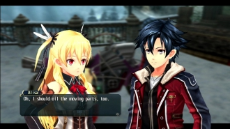 Новый трейлер The Legend of Heroes: Trails of Cold Steel II