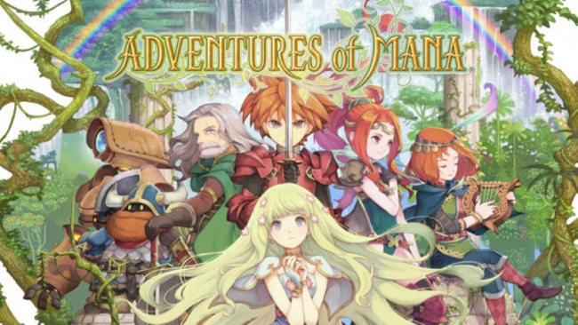 Состоялся релиз Adventures of Mana для PlayStation Vita