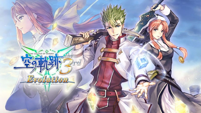 Открывающий ролик и трейлер The Legend of Heroes: Trails in the Sky the 3rd Evolution