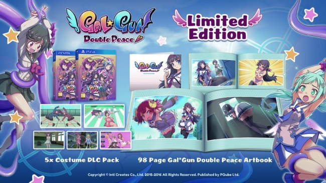 Gal Gun: Double Peace выйдет в Европе 29 июля