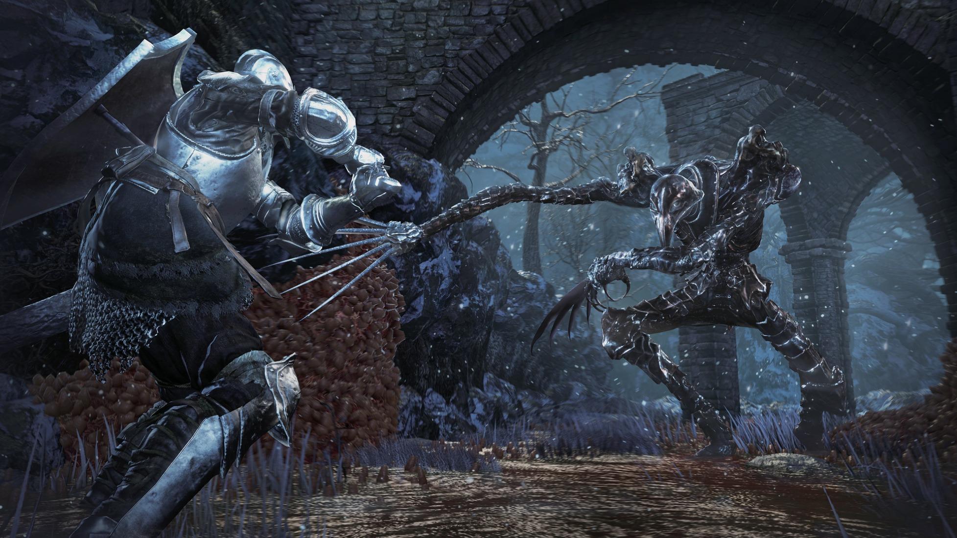 Свежие скриншоты дополнения для Dark Souls III - Ashes of Ariandel