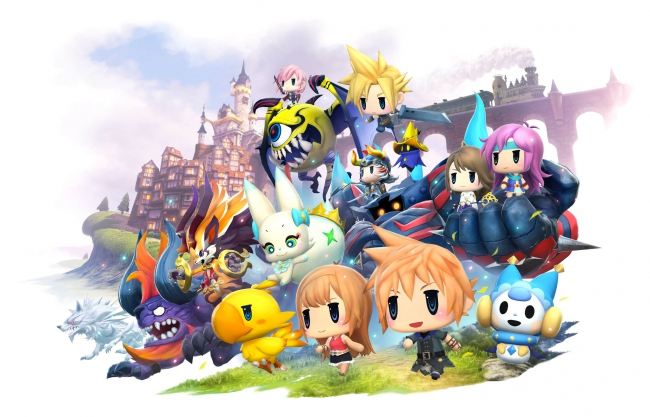 Демонстрация онлайн-сражений в World of Final Fantasy