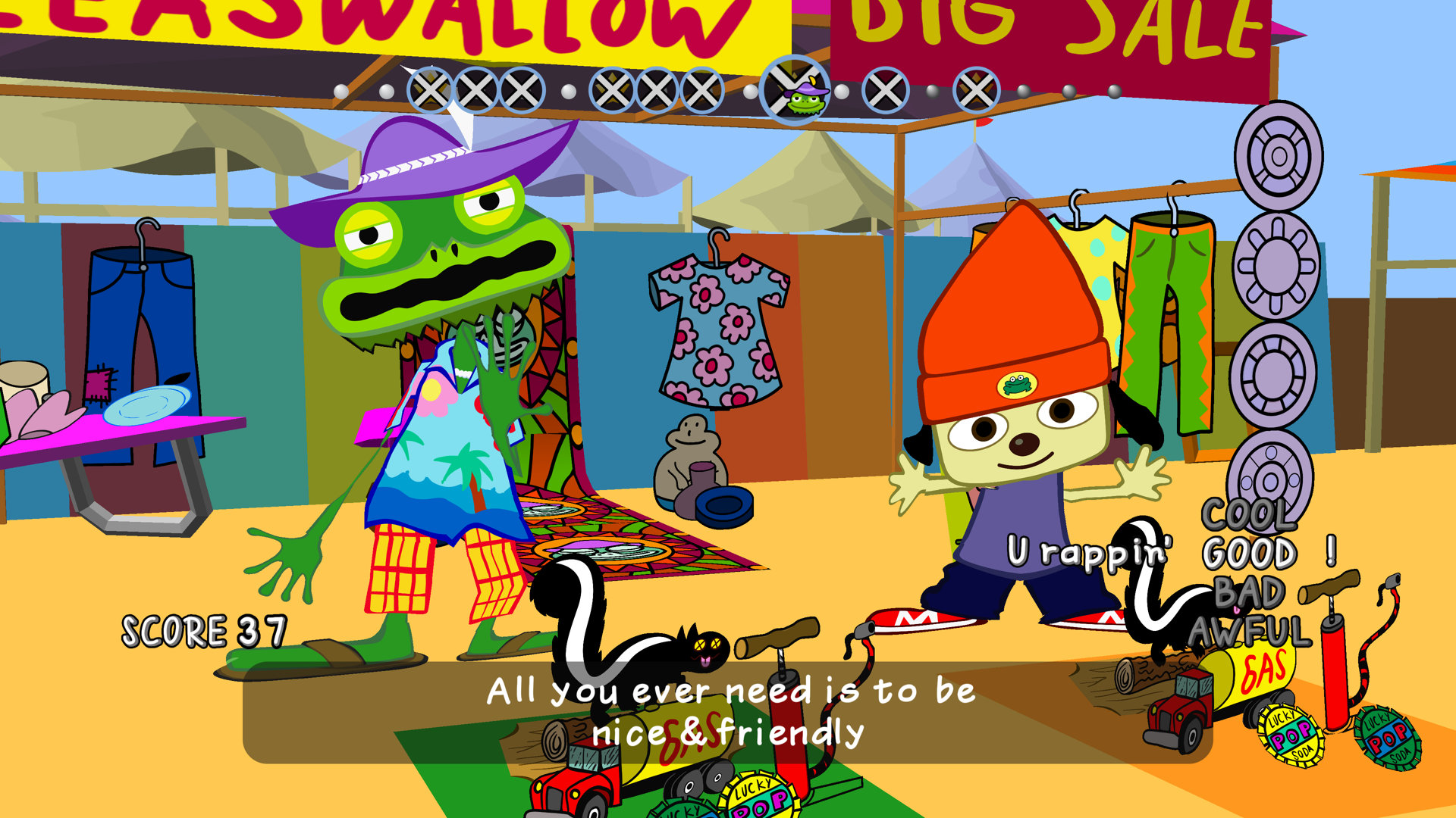 Psp parappa the rapper