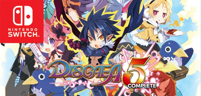 Disgaea 5 Complete выйдет на Nintendo Switch в мае