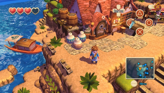 Состоялся релиз Oceanhorn: Monster of Uncharted Seas на PlayStation Vita