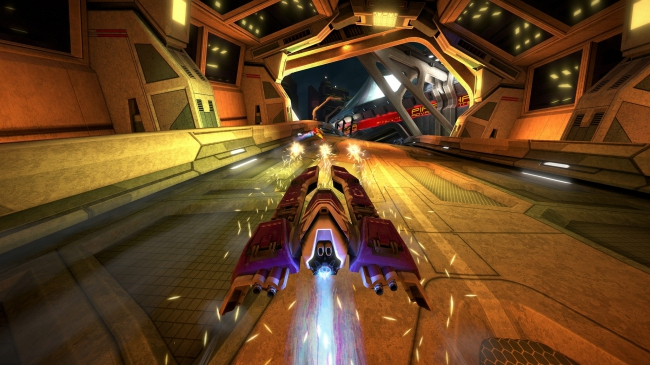 Обзор WipEout Omega Collection