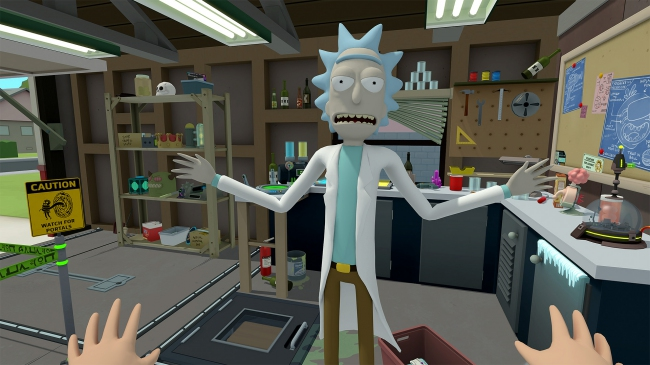Rick and Morty: Virtual Rick-ality выйдет на PlayStation VR в 2018 году