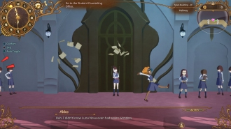 Англоязычные скриншоты Little Witch Academia: Chamber of Time