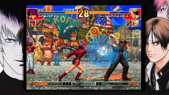 Дебютные скриншоты The King of Fighters '97 Global Match