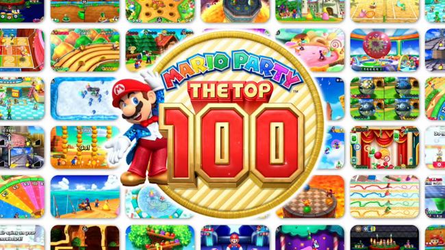Обзор Mario Party: The Top 100