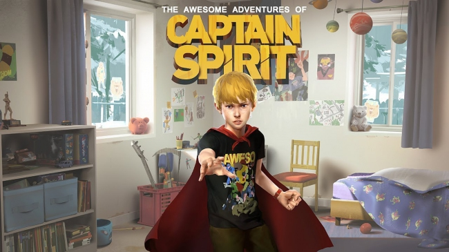 Релизный трейлер The Awesome Adventures of Captain Spirit